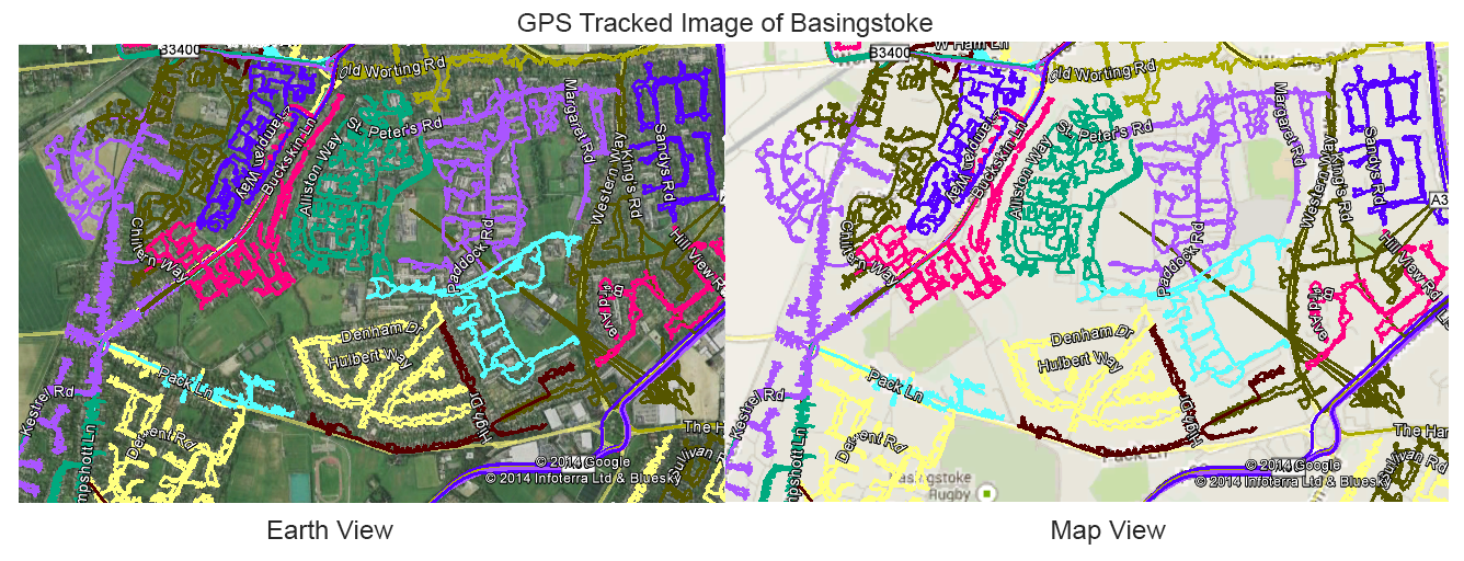 Leaflet Distribution in Hampshire - GPS Tracked