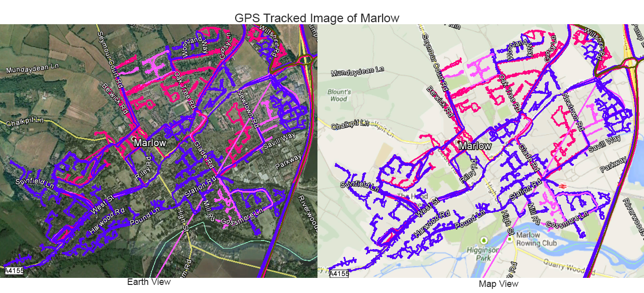 Leaflet Distribution Marlow - GPS Tracked