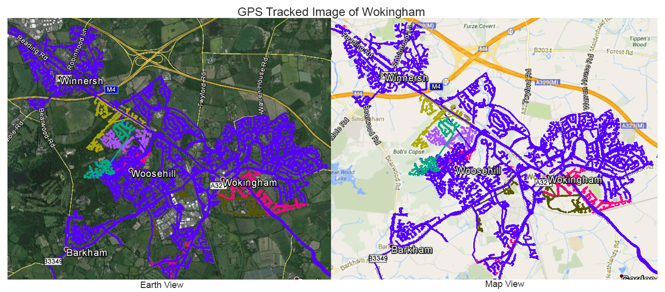 Leaflet Distribution Wokingham - GPS Tracked