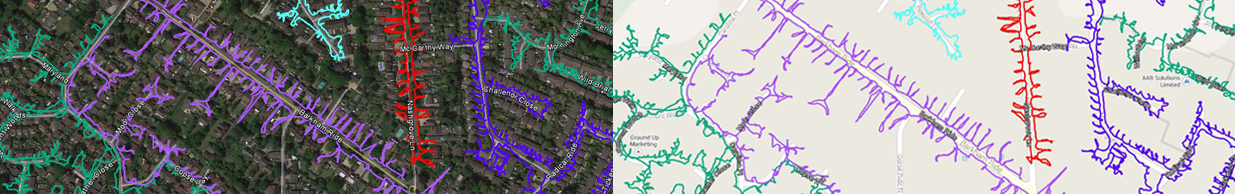 GPS tracked leaflet distribution Berkshire