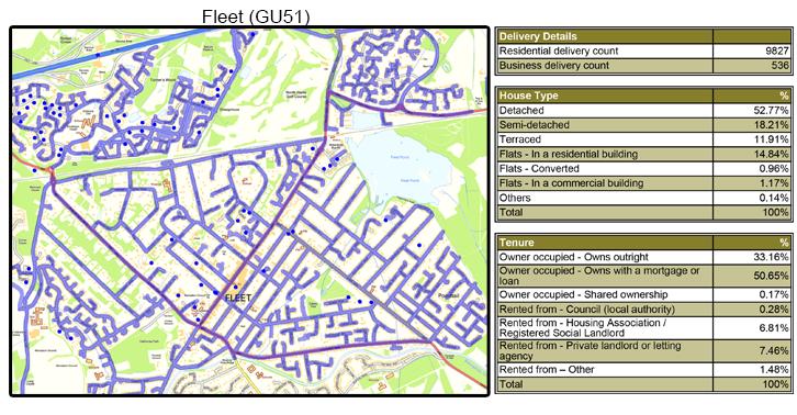 Leaflet Distribution Fleet