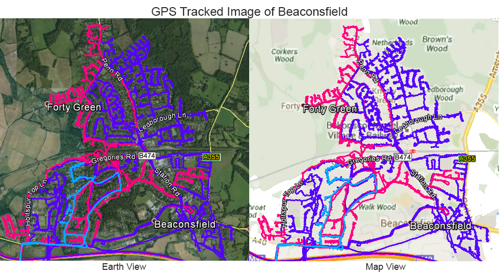 Leaflet Distribution Beaconsfield - GPS Tracked