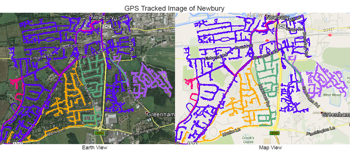 Leaflet Distribution Newbury - GPS Tracked