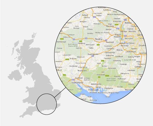 Berkshire GPS tracked leaflet distribution